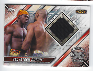 2016 TOPPS WWE Dash Wilder Card NXT Londres Takeover Authentic Mat Relic