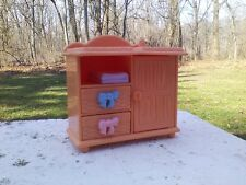 Fisher Price Loving Family Dollhouse Doll Baby Nursery Changing Table Furniture