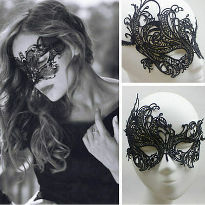 Lace Sexy Eye Mask Venetian Masquerade Ball Halloween Party Fancy Dress Costume