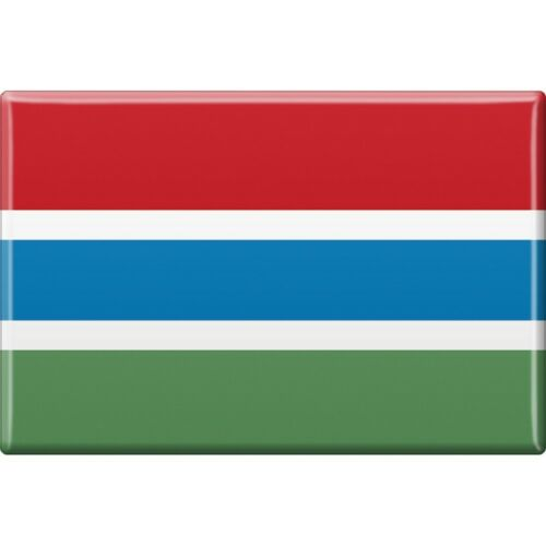 Kuehlschrankmagnet Magnet Schild Laender Motiv magnetisch Gambia 38038