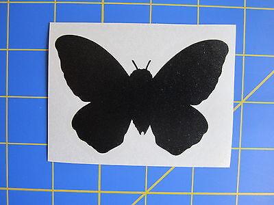 Any Color Sticker 3.5x2.5 Mothra Silhouette Vinyl Decal Godzilla