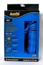 Amflo 24 50e Ret Poly Recoil Air Hose 50 X 14 120 Psi Swivel Fit Reduce Twist
