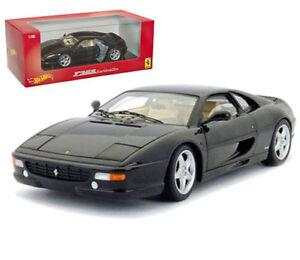 1-18-Mattel-HOT-WHEELS-F355-Berlinetta-Ferrari-Noir
