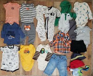 Baby Boy Clothing Lot 9 Months Carters Pink Floyd Gap Ebay