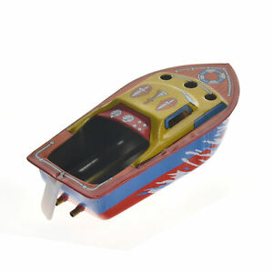 Vintage-STEAM-BOAT-Pop-Pop-Candles-Powered-Put-Put-Ship-Collectable-Tin-Toy