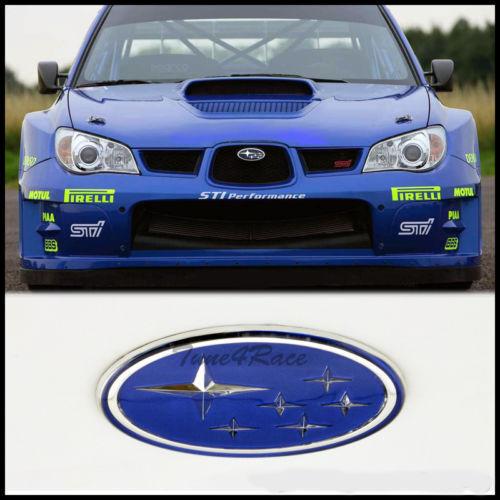 """OEM Subaru Impreza WRX STi Pink """"i"""" Front Grill Emblem 4 ..."""