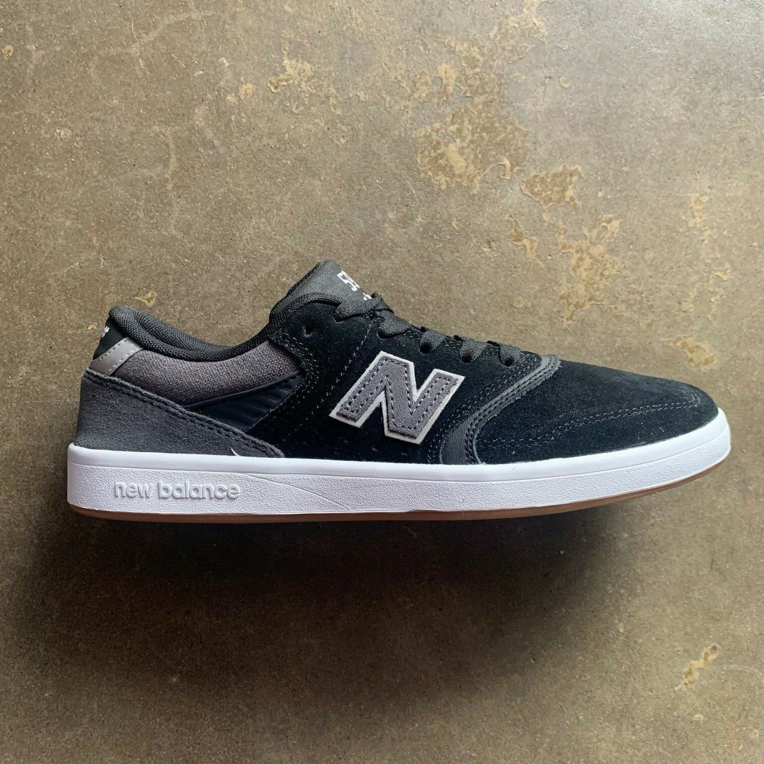 NEW BALANCE NUMERIC 598 BLACK WHITE GUM SIZE 8-11 --FAST SHIPPING--