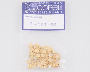 Corel B101 Crochet-Moufle 1 Yeux 4 MM (50 Pièces) Modélisme