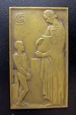 1932 BELGIAN SCHOOL AWARD ART MEDAL / MEDAILLE SAINT GILLES BELGIQUE / N114