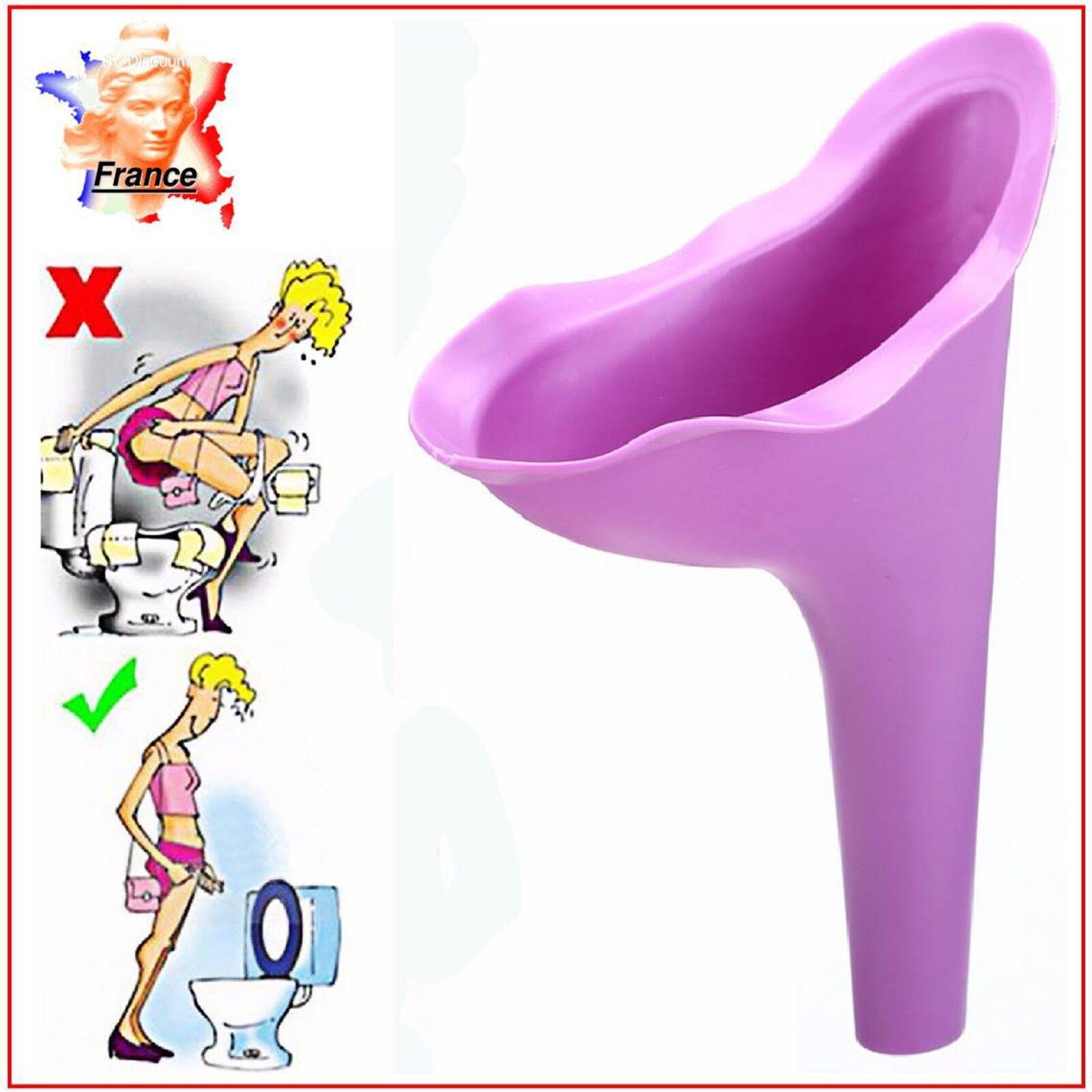 PISSE DEBOUT URINOIR URINETTE femme pipi féminin silicone souple réutilisable **