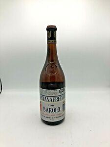 Barolo Docg 1962  Fontanafredda Vino Rosso 72cl 13,5%