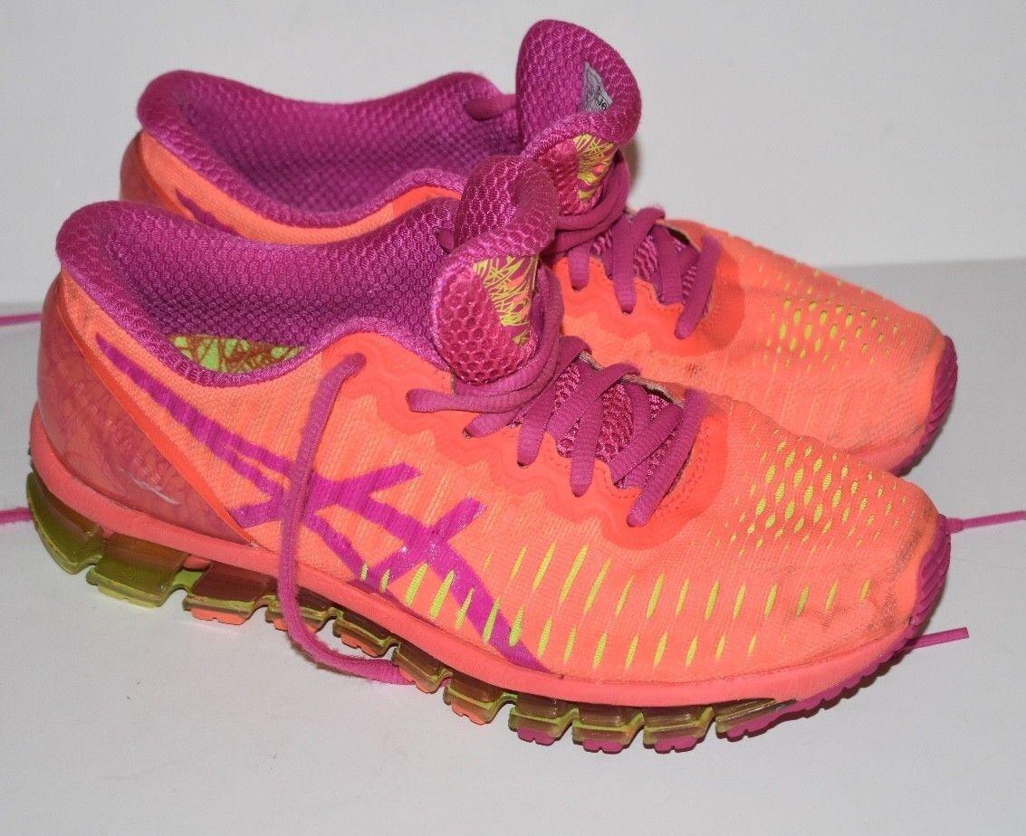 Asics Gel Quantum 360 Women's Running Shoes Sz US 7 Orange T5J6N
