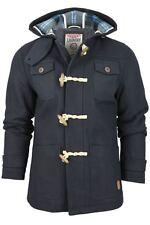 Mens Tokyo Laundry Hoodie Melton Jacket 'Nye' Wool