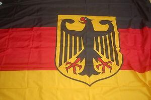riesen gro e xxl deutschland mit adler fan flagge fahne. Black Bedroom Furniture Sets. Home Design Ideas