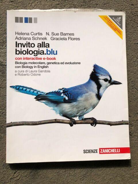 9788808188830 Invito alla biologia blu (biologia molecolare, genetica ed evoluzi