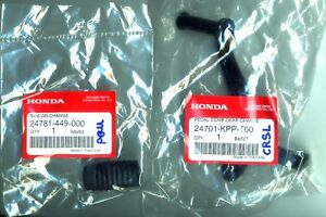 Amical Honda Cbr125 Cbr150 Oem Gear Shift Lever Pedal & Gearshift Rubber 2004 - 2010 Avoir Un Style National Unique