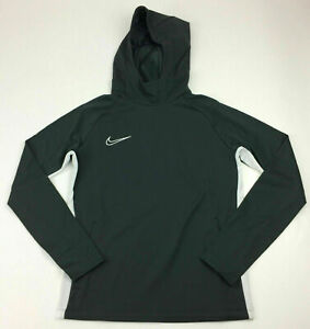 Details about Nike Academy 19 Training Pullover Soccer Hoodie Women's  Medium Black AO1471
