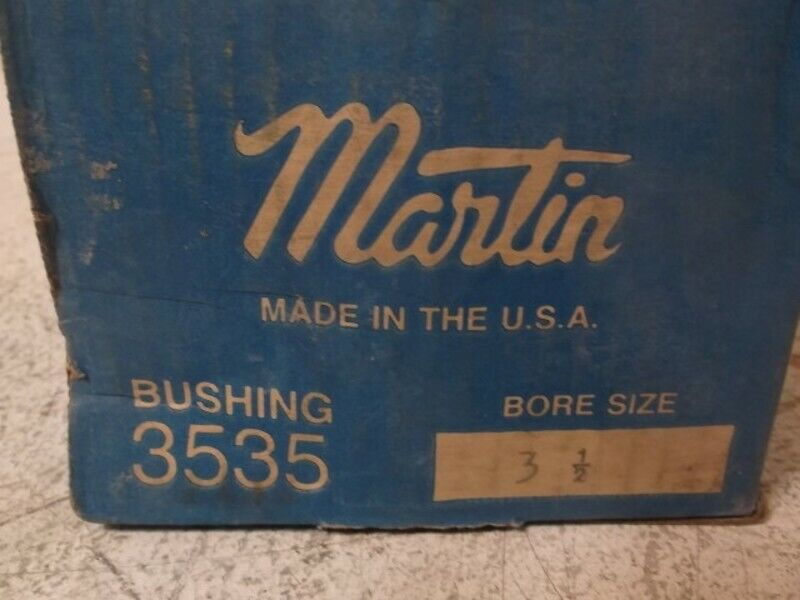 MARTIN 3535 3-1 2 BUSHING TB  NEW IN BOX
