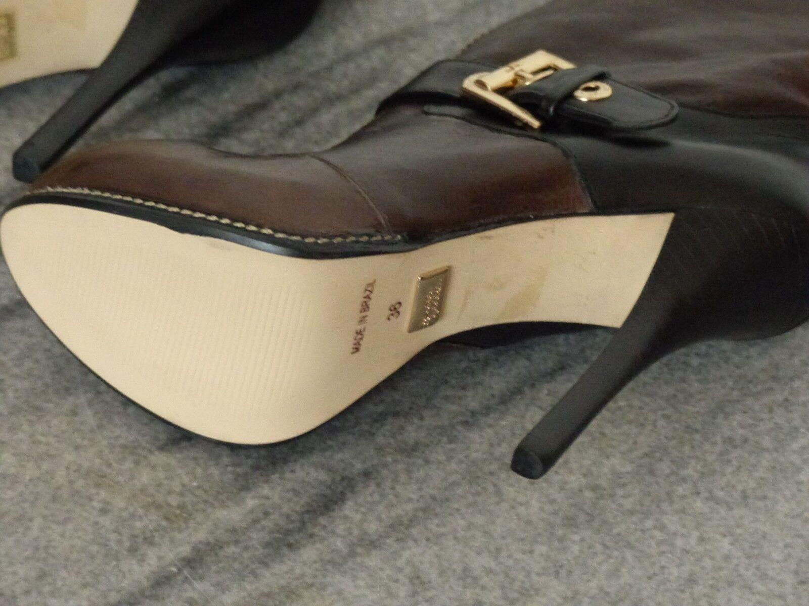 JORGE BISCHOFF BISCHOFF BISCHOFF HIGH HEELS Stiefel Größe 36 - Echtes Leder 4525e0