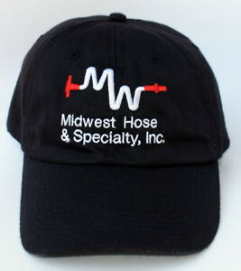 Details about Midwest Hose   Specialty Inc. One Size Fits All Strapback Baseball  Cap Hat 7336b90522b