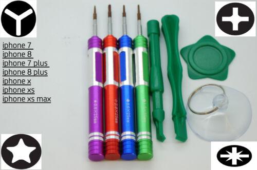 Destornillador de precisión imantados s2 de Acero Conjunto de Herramientas para iPhone 6,6s,7,8 Xs X