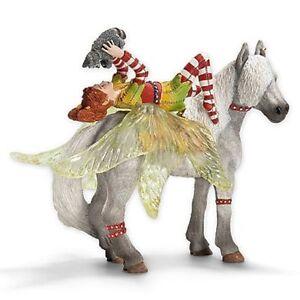 NEW-Schleich-70427-Bayala-Marween-amp-Racoon-Piuh-amp-Horse-RETIRED