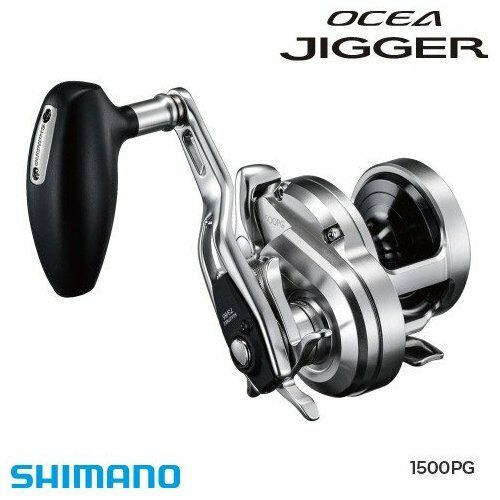 Shiuomoo OCEA JIGGER 1500PG RIGHT HeLE Baitcasting Jigging Reel Japan nuovo .