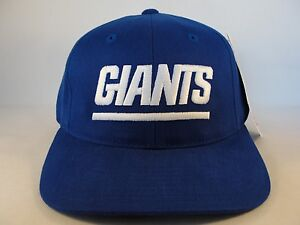 Image is loading New-York-Giants-NFL-Vintage-Strapback-Hat-Cap- e30b074f7