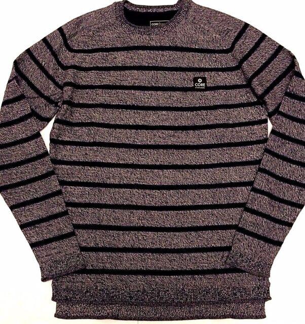 3e199a8a9034 New Mens Jack   Jones Carson Knit Stripe Jumper Crew Neck Sweater Regular  Fit S