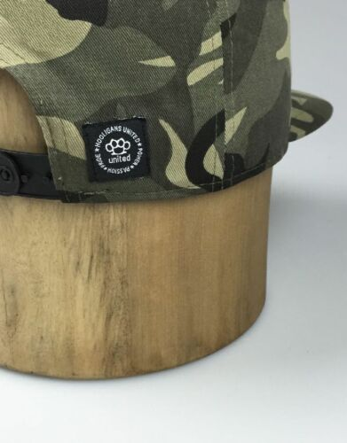 HOOLIGANS-snapback hat cap Casuals MMA Baseball Ultras camouflage armée militaire
