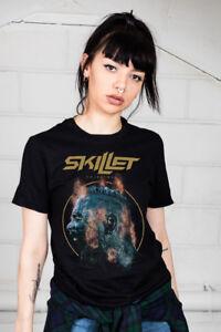Official-Padella-Scatenato-Donna-T-Shirt-Rise-Awake-Comatose-Collide-Invincible