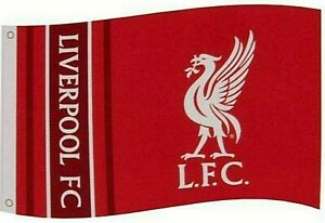Liverpool FC Red UCL Champions Flag LFC Official