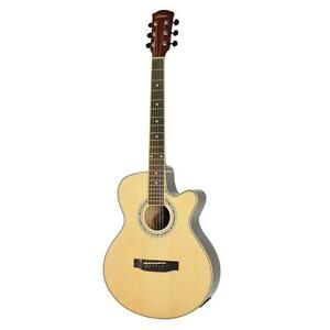 New-Lorden-Small-Body-Acoustic-Electric-Guitar-Steel-String-with-Cutaway