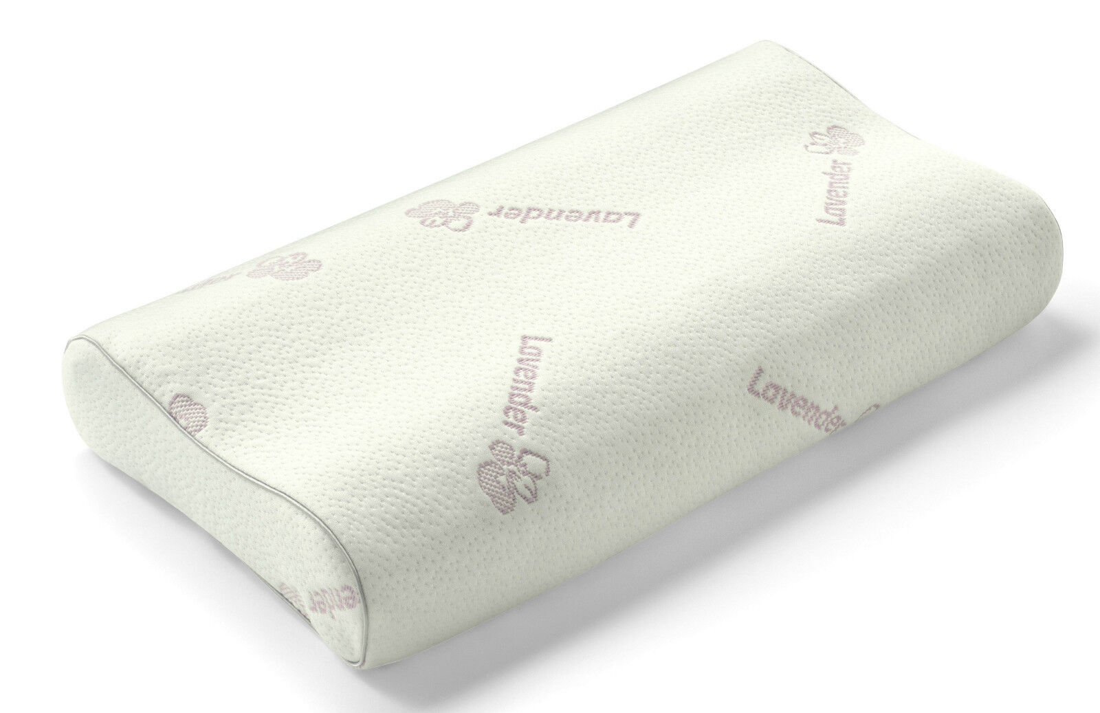 Contour Latex & Lavender Pillow Breathable Hypoallergenic Orthopedic Support