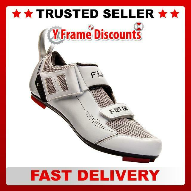 FLR F-121 Triathlon Scarpa in bianco bianco bianco | Ultima Tecnologia  | Aspetto Gradevole  1e4a6c