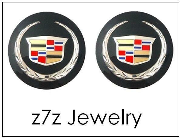 2X 14mm Key Fob Remote Badge Emblem Logo Sticker BMW BEEMER Aluminum Aloy Logo