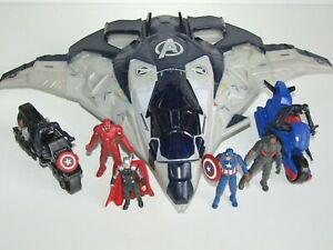 Marvel-Miniverse-Figure-Bundle-Quinjet-Thor-Iron-Man-Falcon-Captain-America