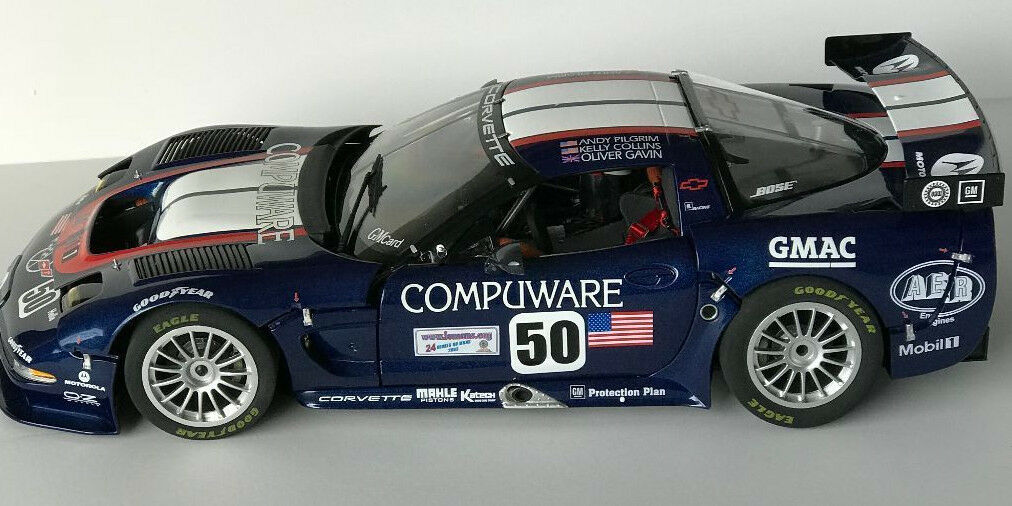 GMP 1 12 Diecast CORVETTE C5R MODEL CAR  13122