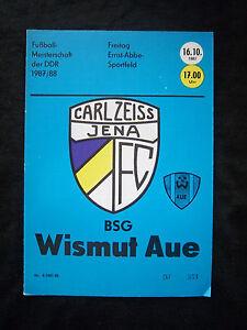 OL 87//88   BSG Wismut Aue HFC Chemie