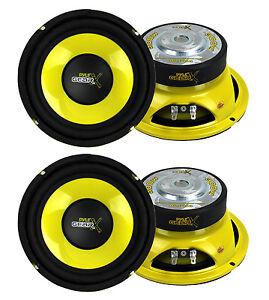 4-Pyle-PLG64-6-5-034-1200-Watt-Car-Mid-Bass-Midrange-Subwoofers-Sub-Power-Speakers