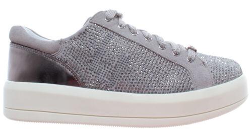 Microfibercow Milano Liu Suede Chaussur Laceup Sneaker Kim07 Femme Jo Grey Light SwrwZq50