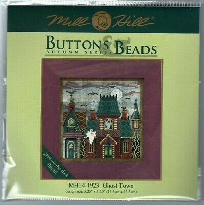 Mill Hill Buttons /& Beads Cross Stitch On Perforated Paper Halloween Kit Your C