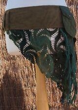 Pixie 6 pocket Skirt,Fairy, Bohemian,Elven,Tribal Boho, Festival,Goa, SteamPunk