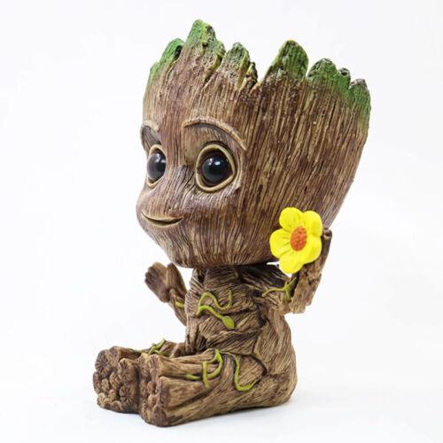 2 Baby Groot Figure Flowerpot Pen Pot Toy Geschenk Guardians of The Galaxy Vol