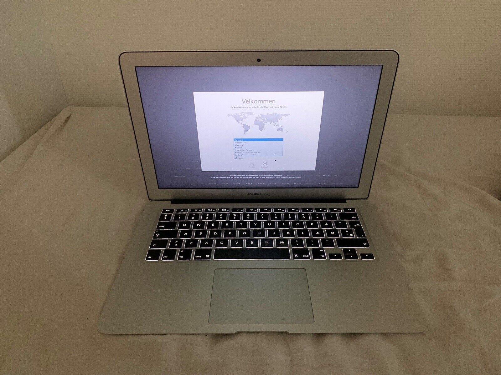 """MacBook Air, 13"""" primo 2014, 1,4 GHz – dba.dk – Køb og Salg"""