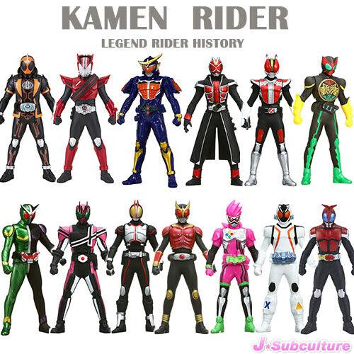 Kamen Rider Legend Rider History Soft Vinyl Figure (Japan Import)