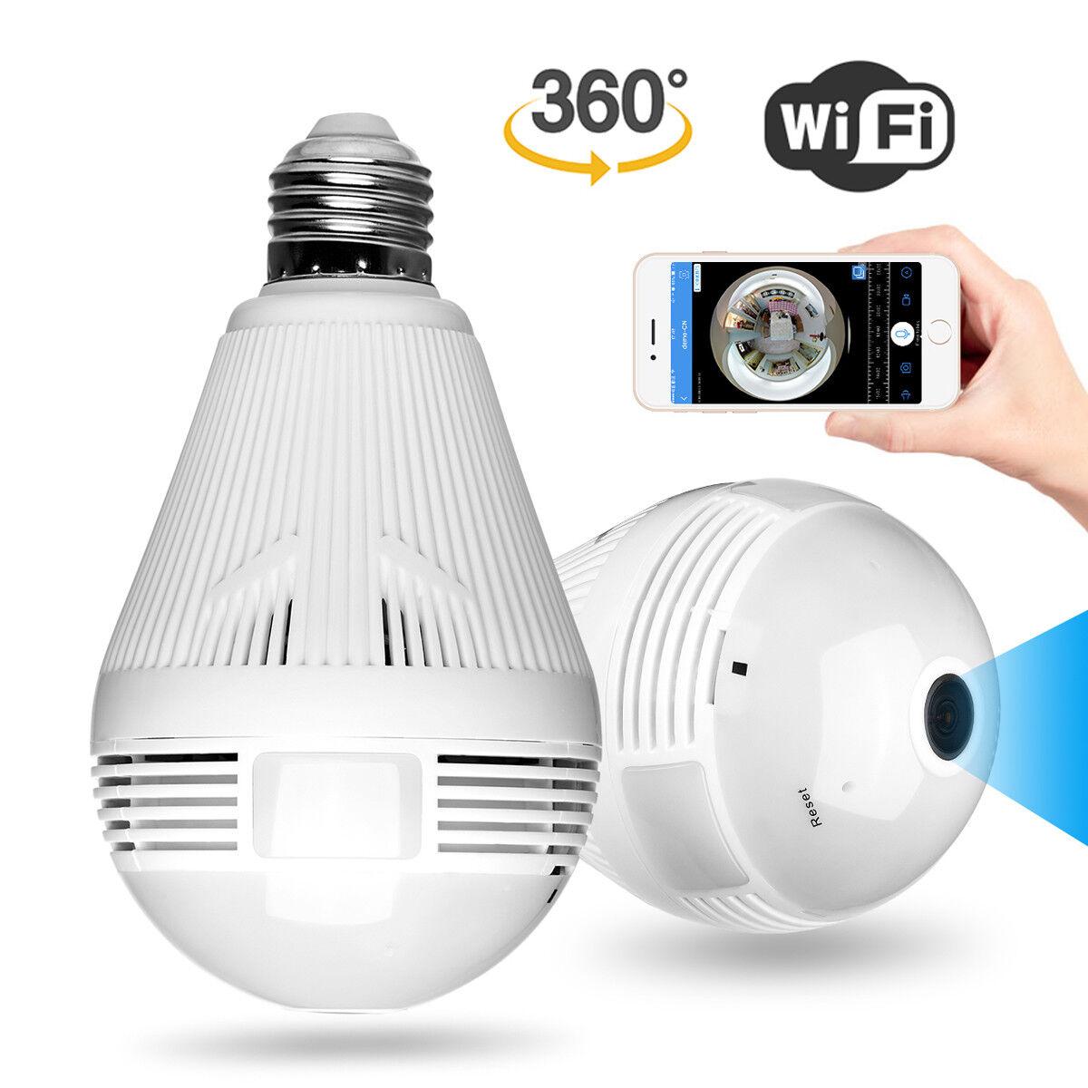 1080p mini security ip camera 360 panoramic