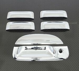 2001 2005 Ford Explorer Sport Trac 4dr Chrome Door Handle Tailgate Cover Ebay