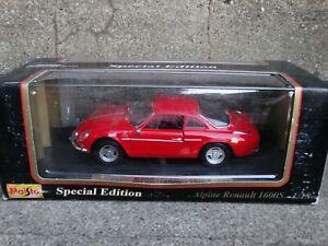 Maisto-1971-Alpine-Renault-1600S-Red-2-Door-1-18-Scale-Diecast-Model-Car