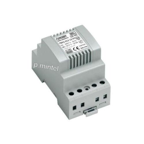 COMATEC TBD2//012.12//P3 Klingeltrafo 230V~//12V~ Transformator mit PTC 1A